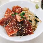 しぶき亭 - ミックス丼