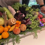 146528316 - 見た目にも美しい旬のお野菜たち