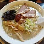 煮干中華 あさり - 辛味そば(デフォで味噌)750円