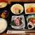 かんてきや 要 - 料理写真:お造りや煮物、揚げ立ての揚げ物に焼き物まで!豪華なおかずが詰まった季節の松花堂弁当1,100円