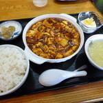 14654421 - 麻婆豆腐セット 2012年9月訪問時
