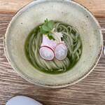 麺匠 独眼流 - 麺三昧 1. いりこと抹茶の香露