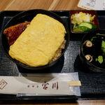 世田谷 宮川 - 出汁巻きうな丼 1780円