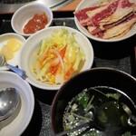 安楽亭 - 石焼ビビンバ&焼肉ランチ