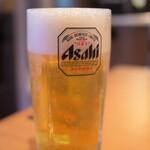 安楽亭 - 生ビール