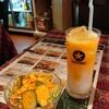 シリジャナ - 料理写真:マンゴーラッシーはセットに+50円