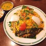Halima kebab biryani - ラムビリヤニ
