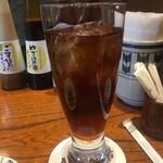 Katsukichinihombashitakashimayaesushiten - 黒ウーロン茶