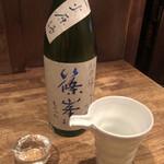 味酒 かむなび - 篠峯 純米吟醸 山田錦 一つ火(奈良)