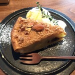 カフェルセット鎌倉 - アーモンドとシナモンのアップルパイ