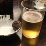 神田まつや - ビール