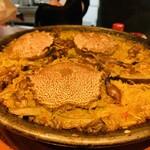 スペイン料理 アロス - ・毛蟹と蛍烏賊のパエジャ