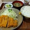 おかめ - 料理写真:ロースかつ定食B