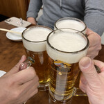 146575671 - 生ビールで乾杯!!