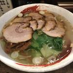 らーめん中々 - 料理写真:塩チャーシュー麺 1,000円