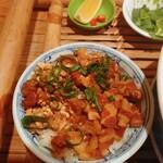 コムゴン - 柔らか煮豚と高菜の甘辛炒めご飯