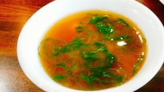 喜多八菜館 - スープ