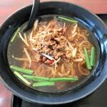 佳肴 - 料理写真:台湾ラーメン
