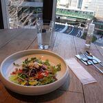 カステリーナ - ランチセット 1000円(税込) + 大盛り 200円 Seasoned Chopped Salad