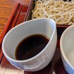 蕎麦処 天和庵 - キレのあるつゆ