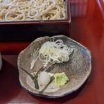 蕎麦処 天和庵 - 薬味