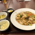 香港料理 蘭 - 五目あんかけ焼きそば