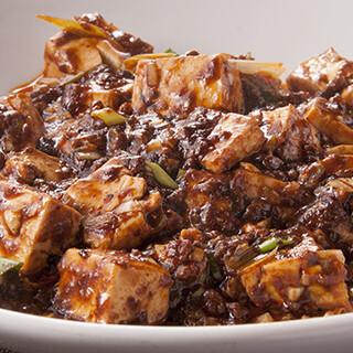 中華料理×地元の名産品!自慢の味「陳麻婆豆腐」が看板メニュー
