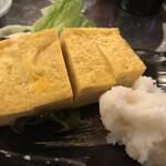 地魚屋台 浜ちゃん  - 厚焼き卵