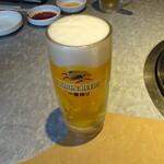 わかまつ - ドリンク写真:生ビール