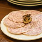 bistro amano - にんにくとショウガの冷製ソーセージ