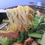 プノンペン - 麺は、黄色っぽい