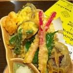 まんてんの星 - 野菜の天ぷら
