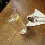 インデアン - レモン入りのお水
