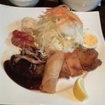 洛風楽座 - デラックス洋食ランチ750円