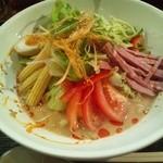 ラーメン創房 玄 - 料理写真:玄菜ごま冷麺