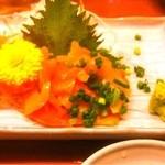 豊年満作 - 【2012年7月23日】青柳刺し 480円 (^^)