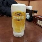 食事処 旬菜亭 - ドリンク写真:生ビール