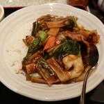 上海庭 - 中華丼 セット