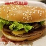 ドムドムハンバーガー - 料理写真:ビッグドムバーガー。