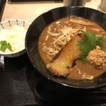 麺屋 たけ井 - 濃厚京味噌ラーメン バターライスセット(期間限定)