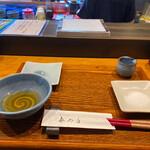 天ぷら専門 多から - 天ぷらはお塩と天つゆでいただきます♡