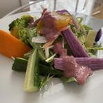 エヌクレア - セットのサラダ