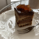 エヌクレア - チョコレートケーキオペラ(ハーフサイズ)
