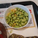 マクドナルド - グランガーリックセット(枝豆コーン)