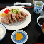ぢばうま八 - 鰹の竜田揚げ定食900円