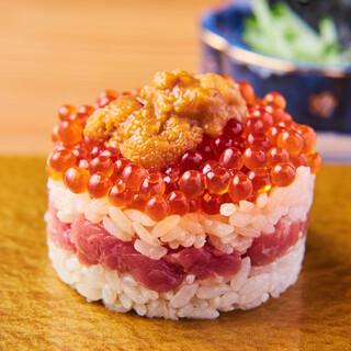 普通のお寿司屋さんでは出会えない当店自慢の「極み寿司」