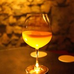 カルーソー - せとか蜜柑とシャンパンのカクテル