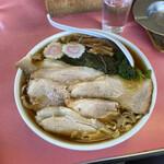 栄楽 - 「チャーシューワンタンメン」800円税込み