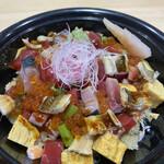 鮨 あしべ - バラちらし寿司(ご飯少な目)