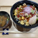 鮨 あしべ - バラちらし(1500円)